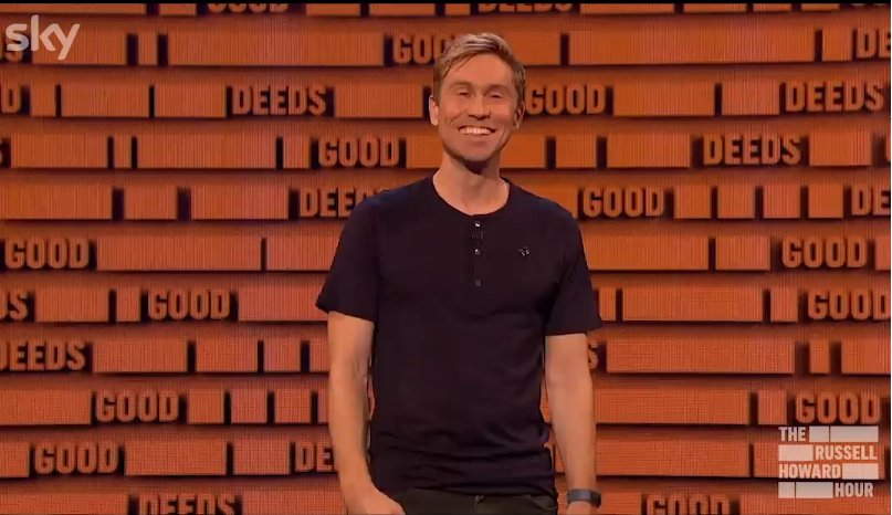Nose it on the Russel Howard hour!